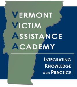 Vermont Victim Assistance Academy.