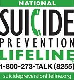 suicide prevention lifeline 800-273-8255