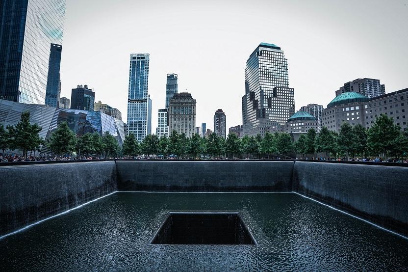 9/11 memorial in New York